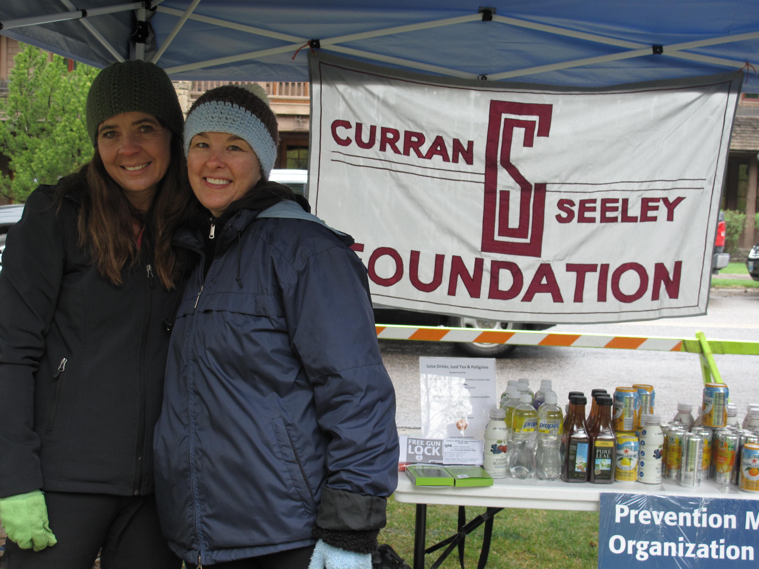 Curran Seeley hosted a non-alcohol drink booth at the Ultimate Towner Obstacle Course this past Sunday